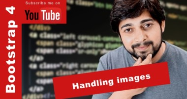 Handling images in Bootstrap 4