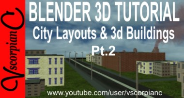 Blender 3d Tutorial – How to Import City Layout & 3d Buildings (Pt2) by VscorpianC