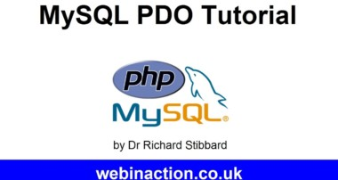 MySQL PDO Tutorial Lesson 6 – Prepared statements with placeholders