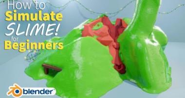 SLIME in Blender in 25 Minutes! – Beginner Tutorial