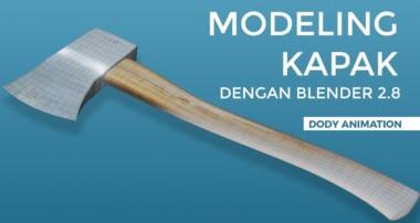 Modeling kapak dengan blender 2 8 (Bagian 1)