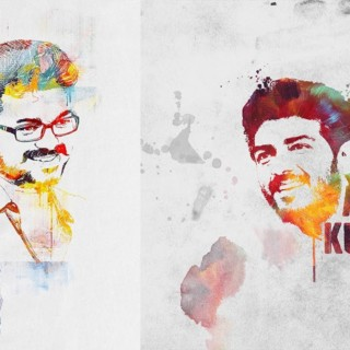 Photoshop : Abstract colorful art Portrait Brush Effects Tutorial | Photo Editing | Threshold
