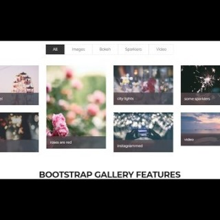 Bootstrap 4 Tutorial in Hindi Part 7 : Bootstrap 4 responsive image gallery in Hindi