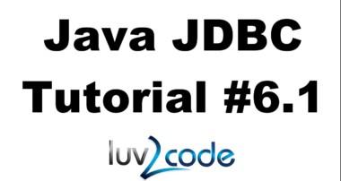 Java JDBC Tutorial – Part 6.1: Calling MySQL Stored Procedures with Java