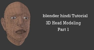 |Blender Hindi Tutorial| – |3D Head modeling Part 1 of 6  (Toon Coffer)|