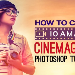 10 Amazing Cinemagraph Photoshop Tutorials