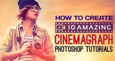 10 Amazing Cinemagraph Photoshop Tutorials