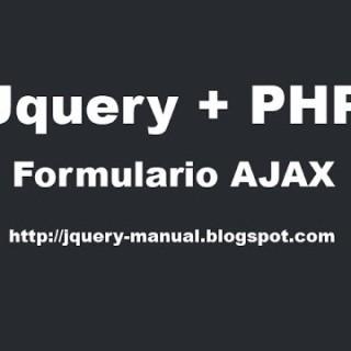 Tutorial – Enviar formulario con Ajax jquery y PHP