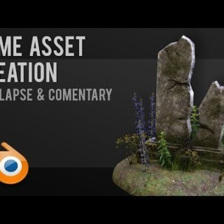 Gravestone | Game asset workflow | Tutorial | Blender