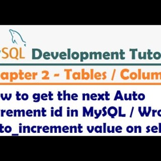 How to get the next Auto Increment id in MySQL | Wrong auto_increment value on select-MySQL Tutorial
