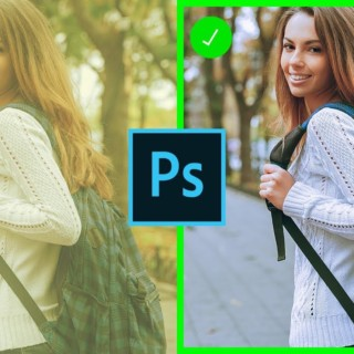 Remove ANY Color Cast FAST & EASY In Photoshop – 90-Second Tip #08