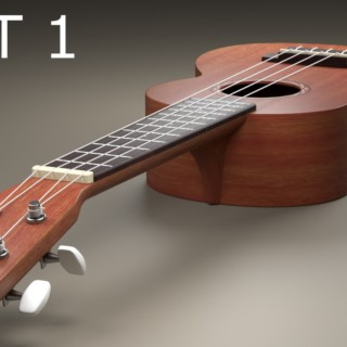 Blender Tutorial: Ukulele Part 1 of 4