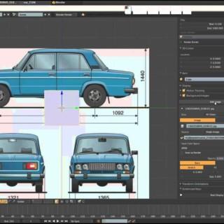 Blender 3D Моделирование ВАЗ 2106 (Урок – 01)