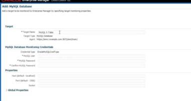 Oracle Enterprise Manager for MySQL