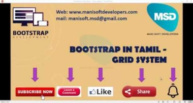 Bootstrap in Tamil part 4 – Grid system