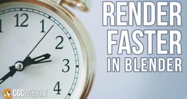Uber-fast Rendering Optimizations in Blender – CGC Weekly #3