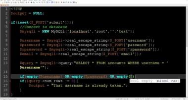 PHP MySQLi Registration Tutorial