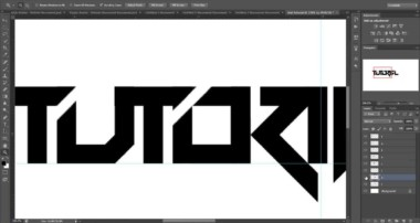 Tutorial: Making A Text Logo In Photoshop: Part 1  (Beginner)