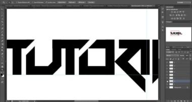 Tutorial: Making A Text Logo In Photoshop: Part 1  (Beginner)