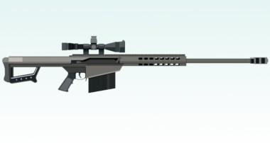 Modeling sniper in Blender tutorial part – 1