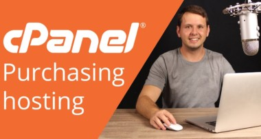 cPanel beginner tutorial 1 – How to purchase hosting