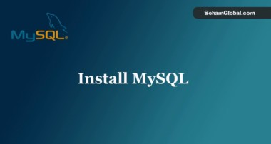 MySQL 8 DB Server installation