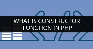 What is Constructor Function in PHP | PHP Constructor |  Constructor Function Tutorial for Beginners