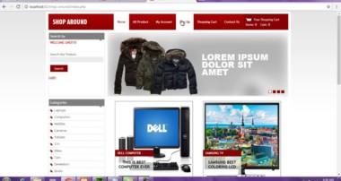 E-Commerce Complete Website PHP Mysql Html/Css Javascript