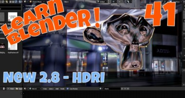 Blender 2.8 HDRI – Render Without a Background?  Watch and See.