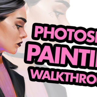 Digital Painting Workflow in Photoshop