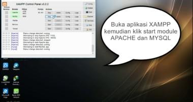 Tutorial database sederhana menggunakan aplikasi Mysql
