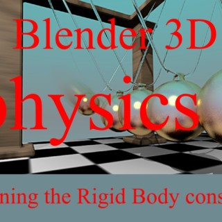 "Blender 3D : Rigid Body constraints : The ""Hinge"" constraint"