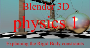 "Blender 3D : Rigid Body constraints : The ""Hinge"" constraint"