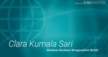 Tutorial membuat database menggunakan MySQL