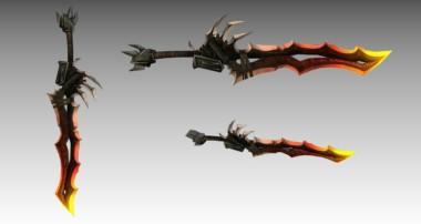 Blender Sword Modeling – Timelapse (Blender Kılıç Modelleme) – (H.G Animations)