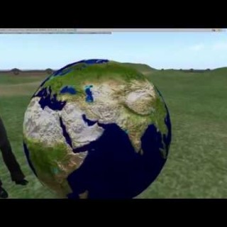 #017 Blender 2.8 Beta  make the earth and upload to SL