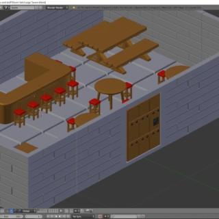 Blender Modeling Tutorial D&D Door | Tavern Pt. 4
