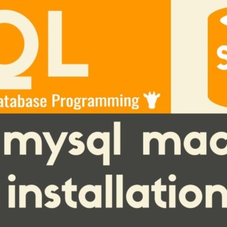 MySQL Mac Installation | SQL | Tutorial 5