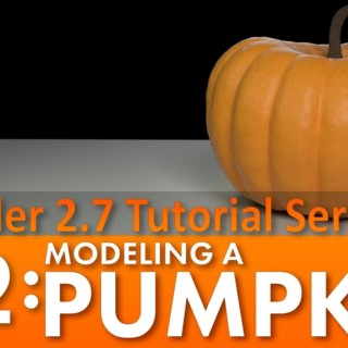 Blender 2.7 Tutorial #82: Modeling a Pumpkin #b3d