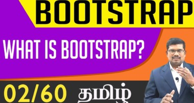 #2 What is Bootstrap? || Bootstrap In Tamil