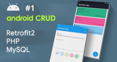 CREATE ✍ INSERT INTO MYSQL DB – #1 – Android CRUD Tutorial | • RETROFIT  • PHP  • MYSQL