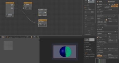 Blender Bursting Bubble crowd render
