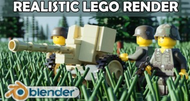 How to Get Lego Movie Photo Realism in Blender Using Mecabricks – Import LDD Stud.io Render Tutorial