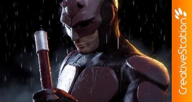 Daredevil – 3D Speed art (#ZBrush, #Blender, #Photoshop) | CreativeStation