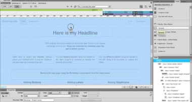 Step 1 – Bootstrap in Dreamweaver CC