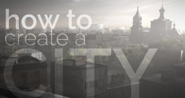 Blender tutorial: How to Create a City, Covered with Fog