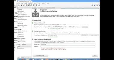 MySQL Workbench – Enterprise Backup – Online Backups Tutorial