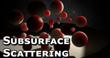 Subsurface Scattering In Blender