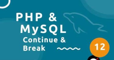 PHP Tutorial (& MySQL) #12 – Continue & Break