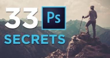 33 Photoshop Secrets